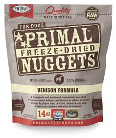 Primal Canine Venison Freeze Dried