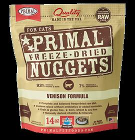 Primal Feline Venison Freeze Dried