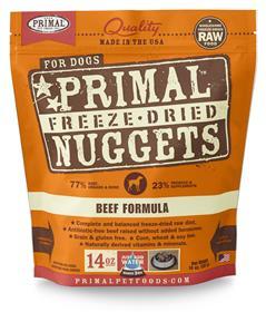 Primal Freeze Dried Canine Beef Formula