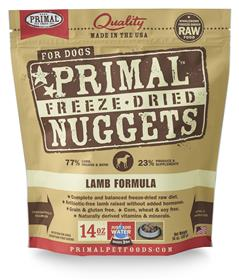 Primal Freeze Dried Canine Lamb Formula