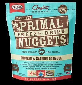 Primal Freeze Dried Feline Chicken and Salmon Formula