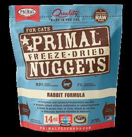 Primal Freeze Dried Feline Rabbit Formula
