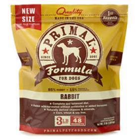 Primal Frozen Canine Rabbit Formula