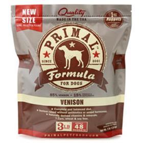 Primal Frozen Canine Venison Formula
