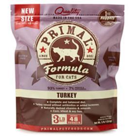 Primal Frozen Feline Turkey Formula