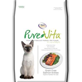 Pure Vita Grain Free Salmon Dry Cat Food