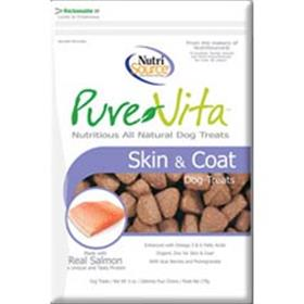 Pure Vita Skin and Coat Dog Treats