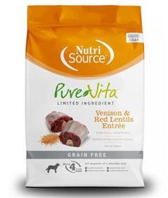 Pure Vita Venison and Red Lentils Grain Free Entree