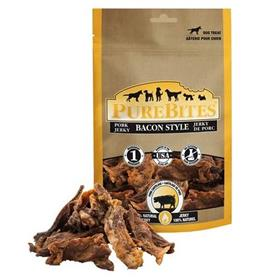 PureBites Bacon Style Pork Jerky Dog Treats