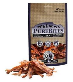 PureBites Chicken and Sweet Potato Jerky Dog Treats