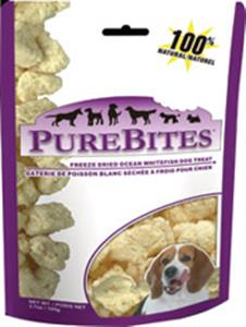 PureBites Ocean Whitefish Dog Treats