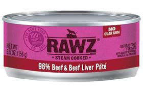 Rawz Cat Beef and Beef Liver Can