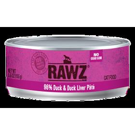 Rawz Cat Can Duck and Liver Pate