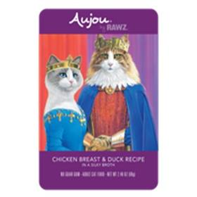 Rawz Cat Pouch Grain Free Aujou Chicken Breast and Duck