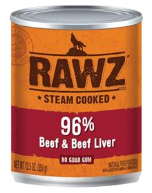 Rawz Dog Beef and Beef Liver Can