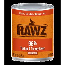 Rawz Dog Can Turkey and Liver Pate