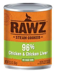 Rawz Dog Chicken and Chicken Liver Can