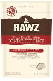 Rawz Dog Freeze Dried Beef Dinner