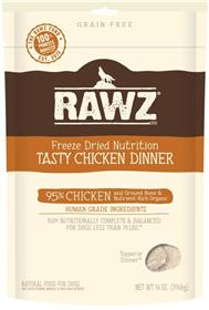 Rawz Dog Freeze Dried Chicken Dinner