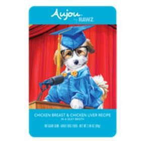 Rawz Dog Pouch Grain Free Aujou Chicken and Chicken Liver