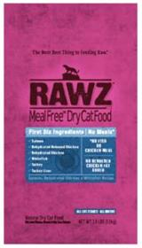 Rawz Meal Free Dry Cat Food Salmon Dehydrated Chicken and Whitefish