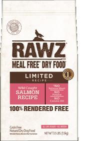 Rawz Wild Caught Salmon Recipe Dry Dog Food Recipe