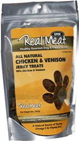 Real Meat Chicken and Venison Long Strips