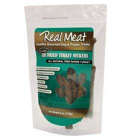 Real Meat Company Turkey Neckers Air Dried Dog Treats