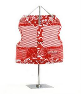 Red Hawaiian Netted Harness with Leash