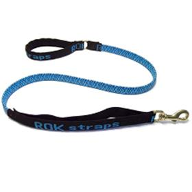 ROK Strap Leash Blue and Black