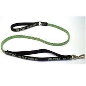 ROK Strap Leash Green and Black