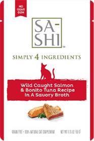 Sashi Wild Caught Salmon and Bonito Tuna Recipe