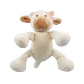 Simply Fido Beginnings Cow Organic Dog Toy