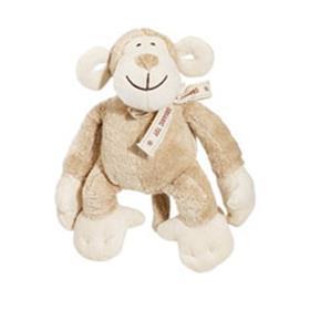 Simply Fido Oscar Monkey Organic Dog Toy