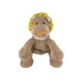 Simply Fido Petite Leo Lion Organic Dog Toy