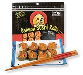 Snack21 Salmon Sushi Rolls
