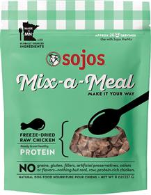 Sojos Dog Mix A Meal Freeze dried Chicken