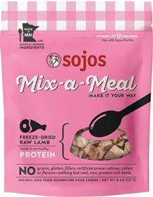 Sojos Dog Mix A Meal Freeze dried Lamb
