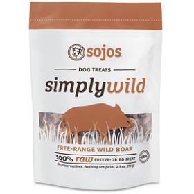 Sojos Simply Wild Boar Treats