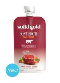 Solid Gold Beef Bone Broth with Turmeric