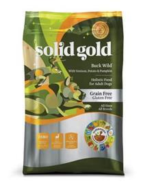 Solid Gold Buck Wild Venison Potato Pumpkin Recipe Grain Free Adult