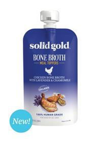 Solid Gold Chicken Bone Broth With Lavender and Chamomile