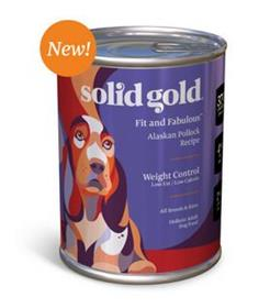 Solid Gold Fit and Fabulous Low Fat Low Calorie Alaskan Pollock Can