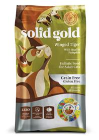 Solid Gold Grain Gluten Free Winged Tiger With Quail