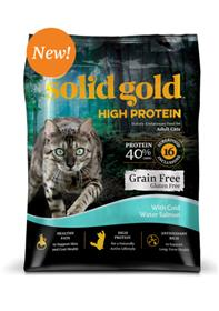 Solid Gold High Protein Cold Water Salmon for Cats
