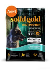 Solid Gold High Protein With Cold Water Salmon and Krill Meal