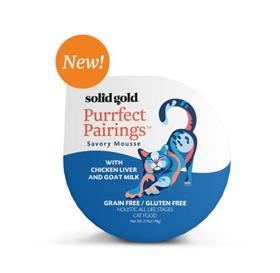 Solid Gold Purrfect Pairings Chicken Liver and Goat Milk