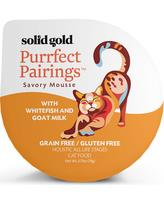 Solid Gold Purrfect Pairings With Whitefish and Goat Milk