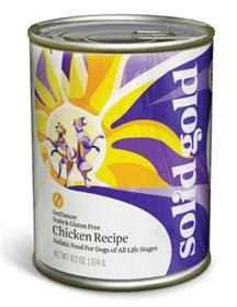 Solid Gold Sun Dancer Chicken Recipe Can