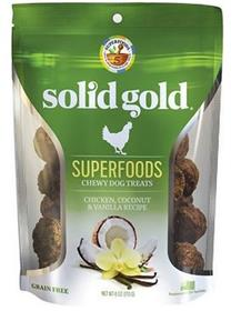 Solid Gold Superfoods Chicken Coconut Vanilla Chewy Dog Treats